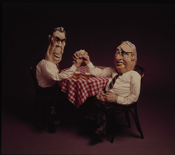 Brezhnev and Kissinger - puppets